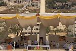 Pope Benedict XVI on the Mount of the Precipice in Nazareth