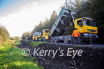 The road at Derryvrin Cross on the Dale Road been resurfaced on Tuesday