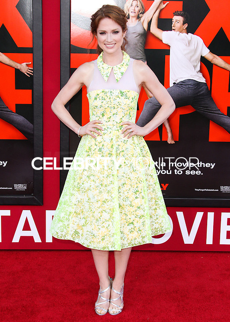 WESTWOOD, LOS ANGELES, CA, USA - JULY 10: Actress Ellie Kemper arrives at the World Premiere Of Columbia Pictures' 'Sex Tape' held at the Regency Village Theatre on July 10, 2014 in Westwood, Los Angeles, California, United States. (Photo by Xavier Collin/Celebrity Monitor)