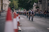 British Champion Connor Swift (GBR/Madison-Genesis) up front<br /> <br /> Stage 8: London to London (77km)<br /> 15th Ovo Energy Tour of Britain 2018