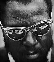 Thelonious Monk at the United Nations. NEW YORK - 1960
