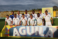 BOGOTA -COLOMBIA, 22-05-2017.Team of Ronegro Aguilas.Action game between  La Equidad and Rionegro Aguilas during match for the date 19 of the Aguila League I 2017 played at Metroplitano of Techo stadium . Photo:VizzorImage / Felipe Caicedo  / Staff