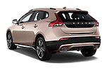 Rear three quarter view of a 2013 Volvo V40 Cross Country Summum Hatchback