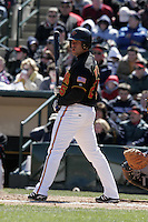 Rochester Red Wings Shawn Wooten during an International League game at Frontier Field on April 8, 2006 in Rochester, New York.  (Mike Janes/Four Seam Images)