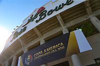Pasadena, CA - Saturday June 04, 2016: during a Copa America Centenario Group B match between Brazil (BRA) and Ecuador (ECU) at Rose Bowl Stadium.
