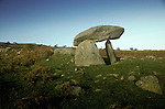 Poets Stone, Nr Roewen Gwynedd Wales Neolithic burial chamber