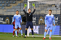 Chester, PA - Friday December 08, 2017: James Pyle The Indiana Hoosiers defeated the North Carolina Tar Heels 1-0 during an NCAA Men's College Cup semifinal soccer match at Talen Energy Stadium.