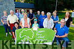 Listowel received the Green Flag award in the town park on Friday. <br /> Front l to r: Cllr Moloney, Mary Halvin (Tidy Towns), Kyle Curran, Judy Gleeson and Cllr Michael Kennelly. Back l to r: Peter and Breda McGrath, Michael Cronin (Tidy Towns), Chris Curran (Pitch and Putt), Imelda Murphy (Tidy Towns), Colette Foran (Tidy Towns), Pat Tarrant (Community Centre), Jerry Brick (Pitch and Putt), John Kennelly (KCC) and Declan O'Mahoney (KCC).