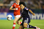 Ayaka Michigami (JPN), .AUGUST 26, 2012 - Football / Soccer : .FIFA U-20 Women's World Cup Japan 2012, Group A .match between Japan 4-0 Switzerland .at National Stadium, Tokyo, Japan. .(Photo by Daiju Kitamura/AFLO SPORT) [1045]