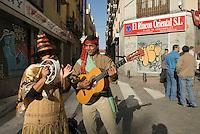 Spanien, Auf dem Flohmarkt Rastro in Madrid