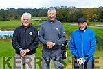 Malachy Walsh, Matt and Paul O'Sullivan enjoying  a round in Killeen course on Friday