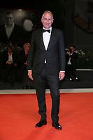 "VENICE, ITALY - SEPTEMBER 05: Stefano Sollima walks the red carpet of the ""ZeroZeroZero"" screening during the 76th Venice Film Festival at Sala Grande on September 05, 2019 in Venice, Italy. (Photo by Mark Cape/Insidefoto)<br /> Venezia 05/09/2019"