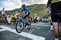 Alejandro Valverde (ESP/Movistar) up the Col de Peyresourde<br /> <br /> fStage 8 from Cazères-sur-Garonne to Loudenvielle 141km<br /> 107th Tour de France 2020 (2.UWT)<br /> (the 'postponed edition' held in september)<br /> ©kramon
