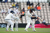 Kane Williamson, New Zealand plays and misses during India vs New Zealand, ICC World Test Championship Final Cricket at The Hampshire Bowl on 22nd June 2021