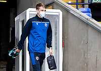 Bolton Wanderers' Harry Brockbank arriving at the ground<br /> <br /> Photographer Andrew Kearns/CameraSport<br /> <br /> The EFL Sky Bet League Two - Bolton Wanderers v Oldham Athletic - Saturday 17th October 2020 - University of Bolton Stadium - Bolton<br /> <br /> World Copyright © 2020 CameraSport. All rights reserved. 43 Linden Ave. Countesthorpe. Leicester. England. LE8 5PG - Tel: +44 (0) 116 277 4147 - admin@camerasport.com - www.camerasport.com