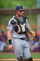 GCL Marlins catcher Matthew Foley (26) during a game against the GCL Mets on August 12, 2016 at St. Lucie Sports Complex in St. Lucie, Florida.  GCL Marlins defeated GCL Mets 8-1.  (Mike Janes/Four Seam Images)