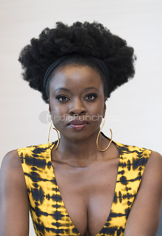 """Danai Gurira, who stars in 'Avengers: Endgame"""", at the InterContinental Hotel in Los Angeles. Credit: Magnus Sundholm/Action Press/MediaPunch ***FOR USA ONLY***"""