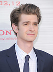 Andrew Garfield attends  COLUMBIA PICTURES' THE AMAZING SPIDER-MAN Premiere held at Regency Village Theater in Westwood, California on June 28,2012                                                                               © 2012 Hollywood Press Agency