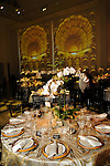 """One of the tables at """"Modern"""" the  Museum of Fine Arts Houston's Grand Gala Ball  Friday Oct. 12,2012.(Dave Rossman photo)"""