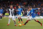 03.11.2018: St Mirren v Rangers: Andy Halliday