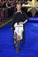 """Faye Touzer<br /> arriving for the """"Captain Marvel"""" European premiere at the Curzon Mayfair, London<br /> <br /> ©Ash Knotek  D3484  27/02/2019"""