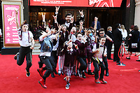School of Rock cast<br /> arrives for the The Prince's Trust Celebrate Success Awards 2017 at the Palladium Theatre, London.<br /> <br /> <br /> ©Ash Knotek  D3241  15/03/2017