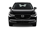 Car photography straight front view of a 2018 Mazda CX-5 Sport 5 Door SUV