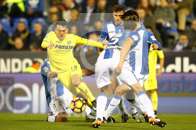 Villarreal CF's Nicola Sansone during La Liga match. December 3,2016. (ALTERPHOTOS/Acero)