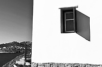 cycladic house's facade