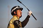 Twilight Eclipse wins the WL McKnight Handicap(G2T) with jockey Manoel Cruz up. Calder Race Course. Miami Gardens, Florida. 11-24-2012.  Arron Haggart/Eclipse Sportswire