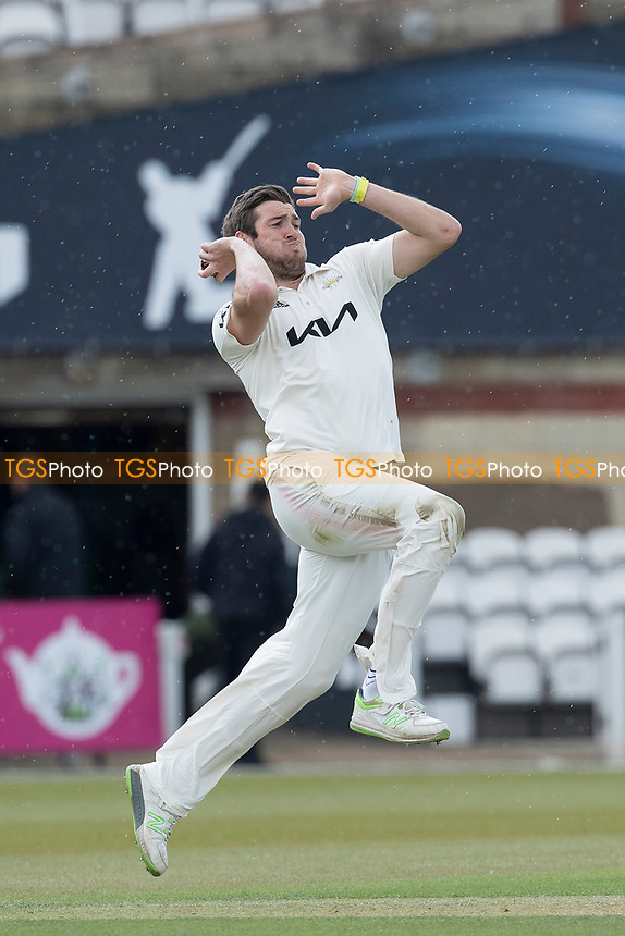 Jamie Overton, Surrey CCC in action during Surrey CCC vs Hampshire CCC, LV Insurance County Championship Group 2 Cricket at the Kia Oval on 1st May 2021