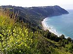 ITA, Italien, Marken, Kuestenlandschaft mit Strand im Parco Nazionale del Conero | ITA, Italy, Marche, coast landscape and beach at Parco del Conero