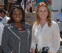 The Stanford Financial Group U.S Open Polo Championship at the International Polo Club in Wellington<br /> <br /> Seen Here_Sarah Ferguson the Duchess of York & Star Jones