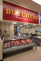 The butcher's counter