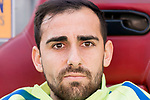 Paco Alcacer of FC Barcelona prior to the La Liga match between Atletico de Madrid and FC Barcelona at the Santiago Bernabeu Stadium on 26 February 2017 in Madrid, Spain. Photo by Diego Gonzalez Souto / Power Sport Images