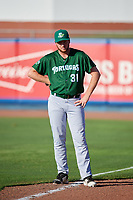 Daytona Tortugas pitcher Michael Byrne (31) before a game against the St. Lucie Mets on August 3, 2018 at First Data Field in Port St. Lucie, Florida.  Daytona defeated St. Lucie 3-2.  (Mike Janes/Four Seam Images)