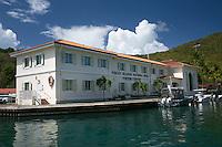 Virgin Islands National Park Visitors Center<br /> Cruz Bay<br /> St. John<br /> US Virgin Islands