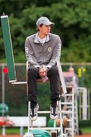 18-08-10, Tennis, Amstelveen, NTK, Nationale Tennis Kampioenschappen, Umpire J. Wohl