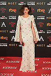 Macarena Gomez attends 30th Goya Awards red carpet in Madrid, Spain. February 06, 2016. (ALTERPHOTOS/Victor Blanco)