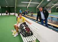 18-01-14,Netherlands, Rotterdam,  TC Victoria, Wildcard Tournament,  Sebastiaan Bonapart (NED)<br /> Photo: Henk Koster