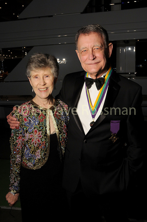 Nancy and Tom Daly at the 20th San Luis Salute Friday Feb. 05, 2016.(Dave Rossman photo)