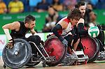 Patrice Simard, Rio 2016 - Wheelchair Rugby // Rugby En Fauteuil roulant.<br /> Canada vs Japan in the Wheelchair Rugby bronze medal final // Le Canada contre le Japon dans la finale pour la médaille de bronze du rugby en fauteuil roulant. 18/09/2016.
