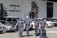 Campinas (SP), 05/04/2021 - Vacinação - Começou nesta segunda-feira (05) a campanha para a vacinação contra a covid-19 em profissionais das forças de segurança nos quartéis em todo o estado de São Paulo.