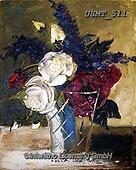 Malenda, FLOWERS, BLUMEN, FLORES, paintings+++++,USMT511,#f#, EVERYDAY ,oil paintings