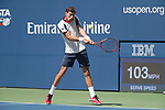 September  5, 2017:  Pablo Carreno Busta (ESP) defeated Diego Schwartzman (ARG)  6-4, 6-4, 6-2 at the US Open being played at Billy Jean King Ntional Tennis Center in Flushing, Queens, New York. Leslie Billman/EQ