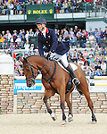 Rolex Kentucky Three-Day Event. Lexington, KY. Copyright Sarah K. Andrew/Eclipse Sportswire. William Fox-Pitt and Cool Mountain