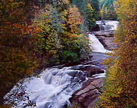 """An Autumn Day at Triple Falls""<br />