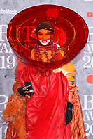 Daniel Lismore<br /> arriving for the BRIT Awards 2019 at the O2 Arena, London<br /> <br /> ©Ash Knotek  D3482  20/02/2019<br /> <br /> *images for editorial use only*