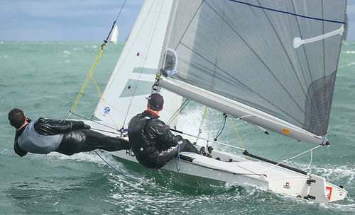 11 Fireball dinghies are already entered for VDLR 2021 that will also double as the class Leinster Championships Photo: Afloat