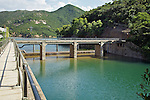 Masonry bridge from the masonry aqueduct of the Tai Tam Upper Reservoir (1883-1888).<br />